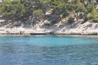 Cote d'Azur, das Meer der Provence in Südfrankreich