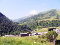 Landaschft Französische Alpen