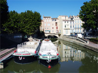 Fluss Languedoc-Roussillon
