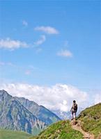 Landschaft Pyrenäen