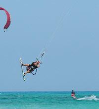 Kitesurfen Südfrankreich