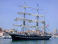 Segelboot Südfrankreich